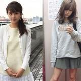 現役女子大生でお天気キャスターの沖田愛加さん(21)の「ギャップ写真」